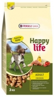 HAPPY LIFE ADULTO FRANGO 15 KG*