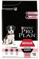 PRO PLAN MEDIUM PUPPY OPTIDERMA SALMÃO