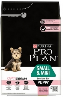 PRO PLAN SMALL & MINI PUPPY OPTIDERMA SALMÃO