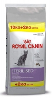 ROYAL CANIN CAT STERILISED 10 + 2 KG