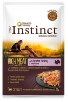 TRUE INSTINCT HIGH MEAT FILETES DE PERU 70 GR