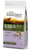 TRUE INSTINCT NO GRAIN MEDIUM/MAX ADULTO PERU